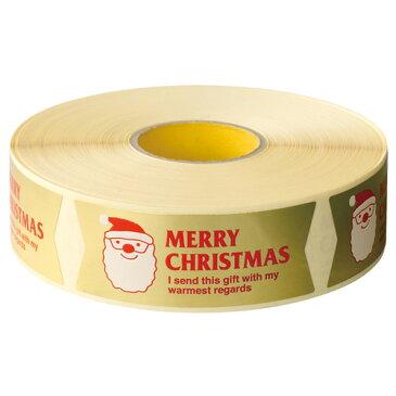 クリスマスサンタシール 10枚入 / ラッピング