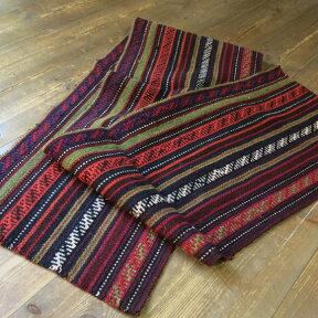 イランの古いテント布・ガジャリキリム/162x28cmロングサイズ