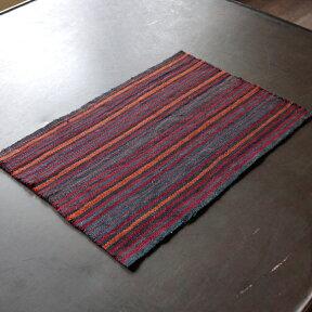 イランの古いテント布・ガジャリキリム40×27.5cm