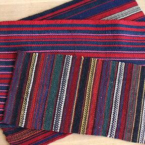 【レターパック利用可】イランの古いテント布・ガジャリキリム3枚セット