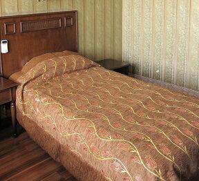 ベッドカバー(ベッドスプレッド)ダブルサイズチューリップ/シュニール素材トルコ高級ファブリック