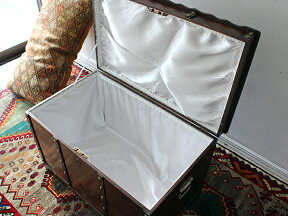 アンティークスタイル・トルコの宝箱サンドゥックW75×H50×D46cm