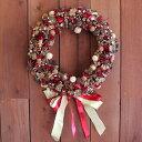 クリスマスリース・ローズ・スパイスリース/Lサイズ・オーストリアRasp社製 ・クリスマスを彩る...