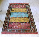 東イランの素朴な手織りキリム・グチャン/セッヂャーデ182×107cm...