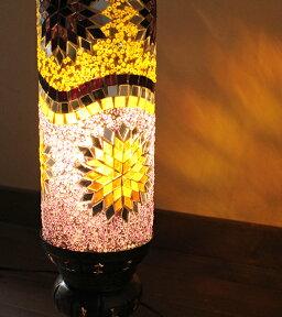 オリエンタルムードのトルコランプ/モザイクランプテーブルスタンド・スタンド照明16cm【送料無料】