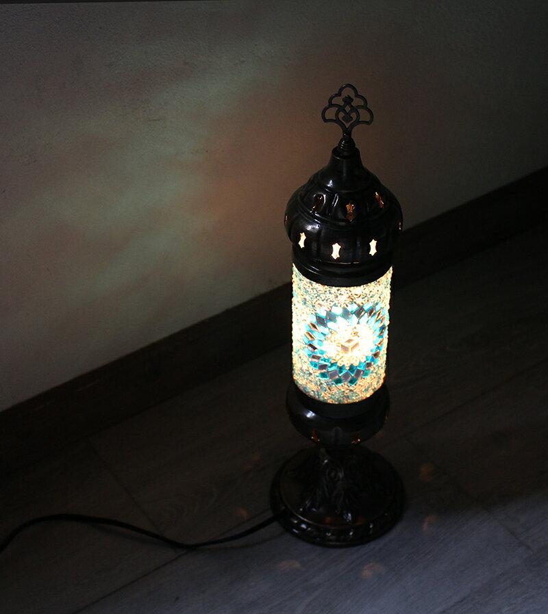 ガラタバザール『トルコモザイクガラススタンドランプ(lp88zm09)』