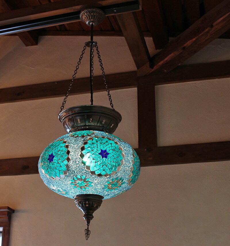 ガラタバザール『トルコランプ大型照明・パレスランプ(lp504z57)』