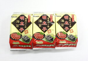ピリ辛明太子のり(8切8枚3袋) 50g 260円(送料別)
