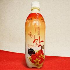 野いちごの甘さが美味しいフルーツマッコリ【韓国仕様】ウリスル野いちごマッコリ750ml×2本