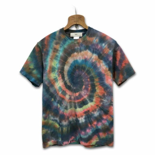 タイダイ染め スパイラル Tシャツ:TS-577