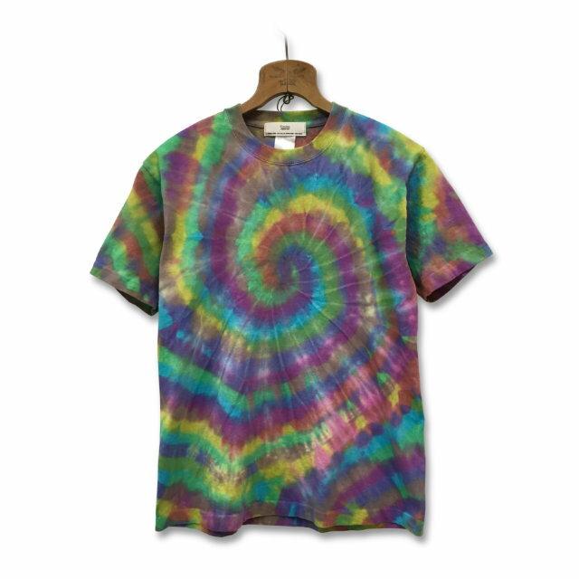 タイダイ染め スパイラル Tシャツ:TS-578