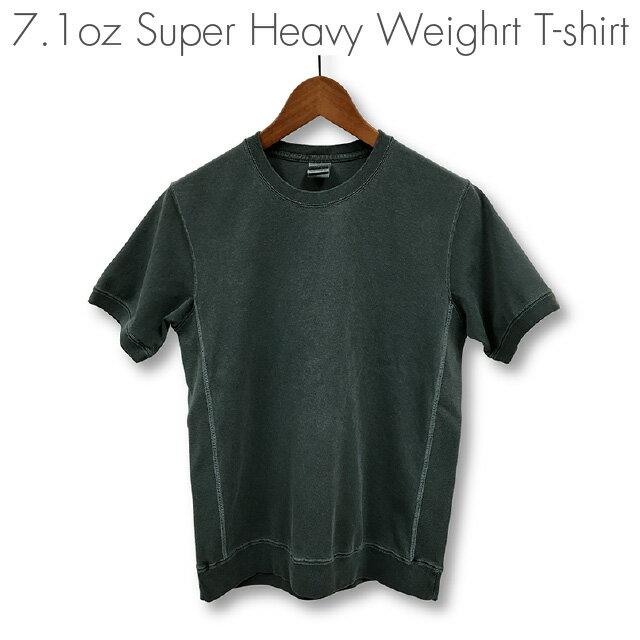 ピグメント染め 顔料染め スーパーヘビーウェイトTシャツ:TS-322