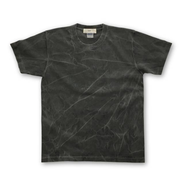 ピグメント 染め 顔料染め プリント Tシャツ : TS-556