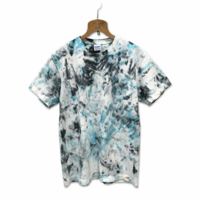 7.1oz スーパー ヘビーウェイト Tシャツ U.Sコットン USAコットン タイダイ Tシャツ タイダイ 染め 半袖 Tシャツ : TS-585