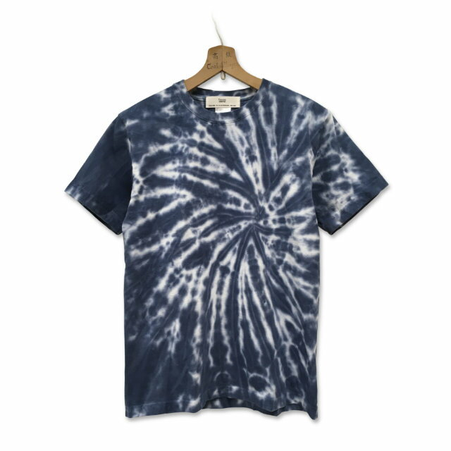 タイダイ染め スパイラル Tシャツ : TS-587