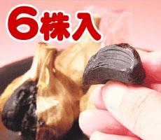【お試し用】 黒にんにく6株