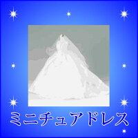 ミニチュアドレス【ケース入・新郎・新婦共再現】