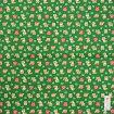 シャンタンチーフ小風呂敷≪和布日和≫豆柴のおつかい緑【ハンカチ】【ランチクロス】【お土産】【50cm】【柴犬】【日本製】