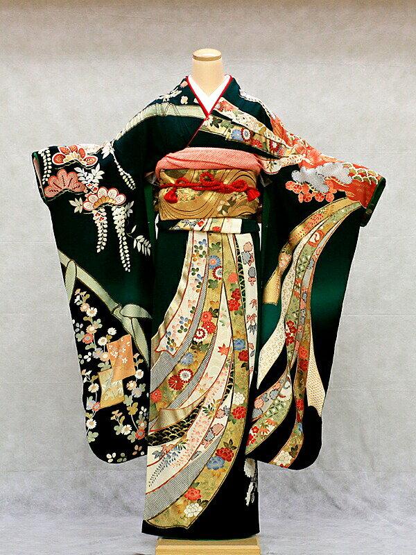 【クーポン】【レンタル】振袖 レンタル 成人式 着物 セット (およばれ)(結納)11