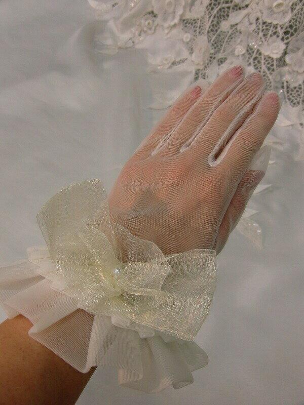 【グローブ レンタル】【レンタル手袋】【手袋】【送料無料】【ショート グローブ】【ドレス小物】【短い手袋】【ブライダル グローブ】】【振袖用グローブ】【着物にグローブ】