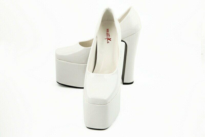 【クーポン】【レンタル】結婚式 ブライダル ブライダルシューズ(レンタル)(ヒールの高さ15cm)【白い靴】21.5センチ〜24.5センチまでサイズも豊富です🌸