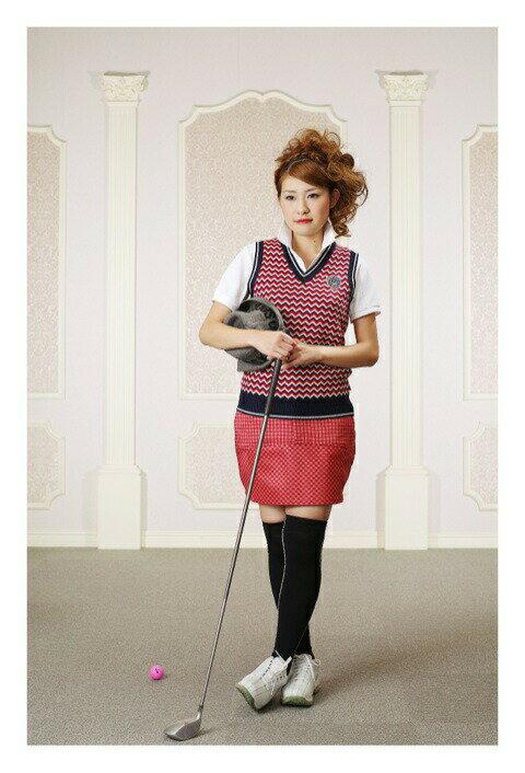 【レンタル】【ゴルフ】【ゴルフウェア】【レディース】【レディースゴルフウェア】【コンペ】【往復送料無料】ゴルフウェアレンタル ポロシャツ ベスト スカート 靴下