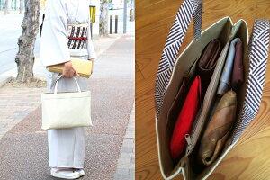 【和装バッグ】A4a4手提げバッグ金地菊菱文「日本製」和装用着物バッグ正絹帯地トートバッグサブバッグ