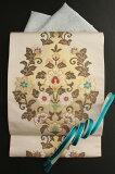 【引箔】西陣織特選袋帯「イタリー唐草文」格調高い雰囲気のハイクラスなフォーマル袋帯小林定織物