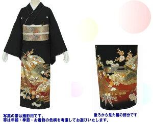 黒留袖レンタル・1201・フリーサイズ〔レンタル留袖〕〔貸衣装〕〔結婚式〕〔SS10P03mar13〕
