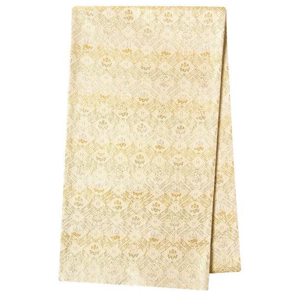 【レンタル】帯 単品 レンタル 帯単品レンタル「B1358 留袖用帯用 ゴールド系」 正絹 留袖用 帯 結婚式 母親 留袖帯レンタル 帯だけレンタル 婚礼用 礼装用