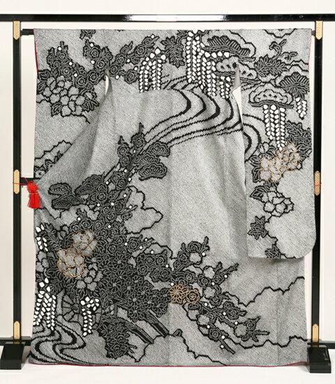 往復・送料無料正絹・振り袖セットレンタルこれで安心セット激安レンタル:kimono5298