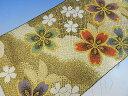 正絹 西陣帯地 はぎれ布手芸 クラフトなどに貴重☆西陣帯地 ハギレ 絹100パーセント約33×約50センチ以上