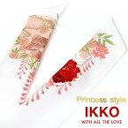 振袖 半襟 刺繍 レトロ IKKO牡丹刺繍 プリント 白 ブライダル 礼装 色内掛 和婚 ママ振袖 結婚式 成人式 卒業式