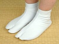 【足袋カバー】汚れ防止に♪少し厚めの白足袋カバー
