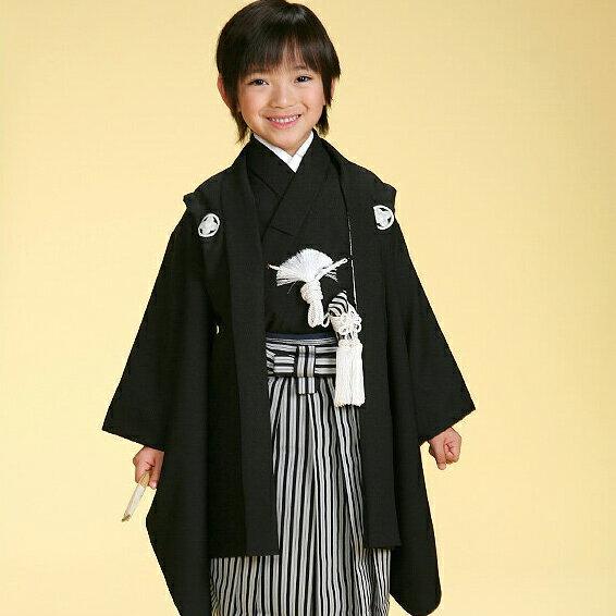 【レンタル】 七五三 753 男の子 男子 5歳男児羽織袴フルセット 往復送料無料 ひさかたろまん 5歳 re-5kodomo-0052
