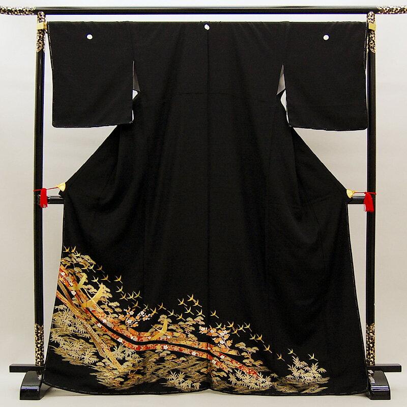 [スーパーセール価格]【レンタル】 留袖 留袖トータルセット 貸衣装 結婚式 きもの 往復送料無料 レンタル正絹留袖25点フルセット re-tome-0022