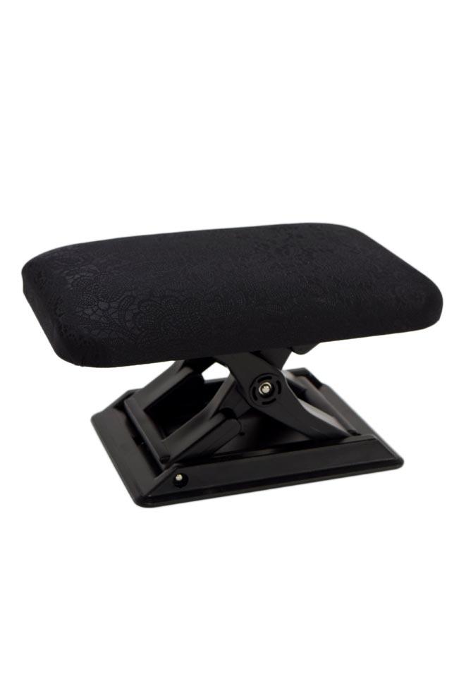 ≪軽くてコンパクト!持ち運べて便利♪≫携帯用正座椅子ワンタッチ三段調節「ペイズリー柄」収納袋付き (25505)