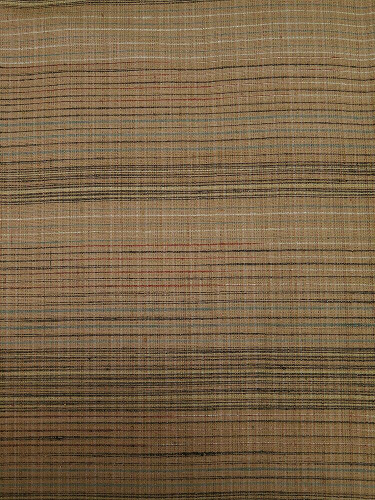 ■室町の加納 謹製 草木染別誂 郡上紬 ハギレあり 誂え流れ 未使用品 薄赤茶系
