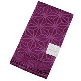半幅帯ゆかた帯浴衣帯単帯ひとえ帯浴衣帯紫パープルグレープ葡萄色