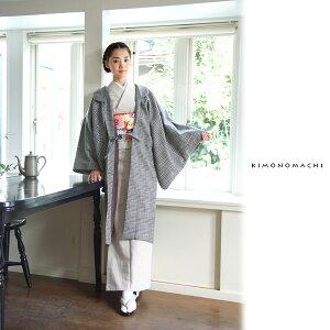 羽織 コート ウール羽織「黒×
