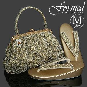 フォーマル草履バッグセット M