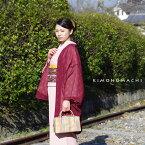 ふんわり 大人可愛いシフォン羽織シフォン 羽織「ワイン 水玉」洒落小物 塵除け カジュアル