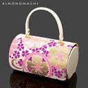 七五三 着物 バッグ「ピンク 古典花柄」 お子様用 和装 バッグ 753【 日本製 】【メール便不可】