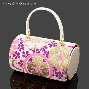 七五三 着物 バッグ「ピンク 古典花柄」