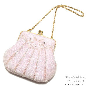 七五三 ビーズバッグ単品「ピンク色」