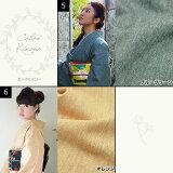 木綿の着物と京袋帯きものキモノの2点セット【メール便不可】code03<R>P16Sep15