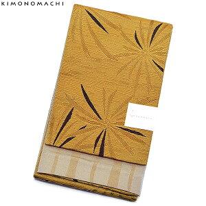 京都きもの町オリジナル浴衣帯単品「芥子色 花火」小袋帯