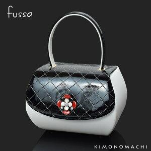 fussa バッグ単品「黒×白