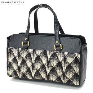 カジュアル和装バッグ「黒×金色