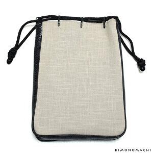 粋也 信玄袋「白グレー」日本製